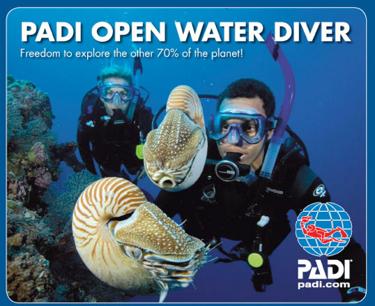 Thailand PADI Open Water Diver
